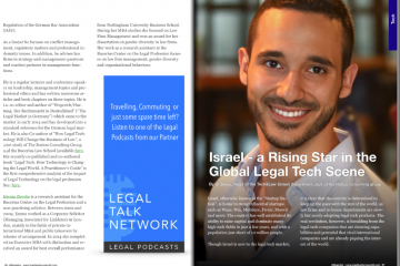 Israel – a Rising Star in the Global Legal Tech Scene
